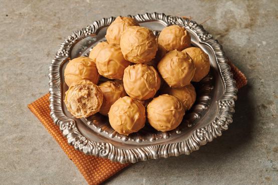 Blonde Chocolate Truffles