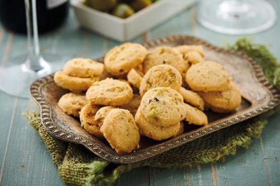 Parmesan & Pistachio Sabl?s