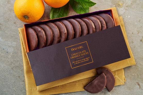 Chocolate Coated Orange Slices