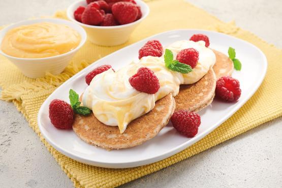 Lemon & Poppy Seed Pancakes