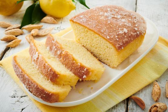 Almond Lemon Drizzle Cake