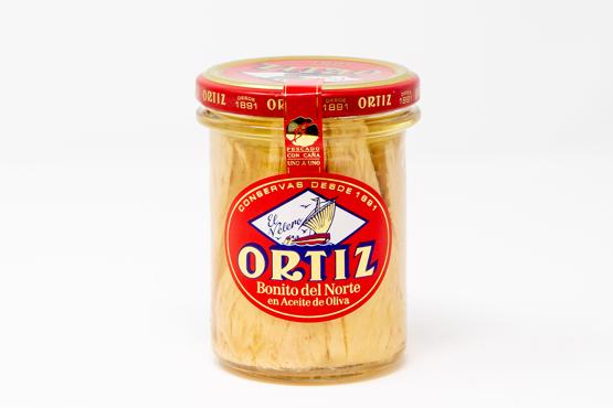 Bonito Tuna Fillet in Olive Oil (Jar