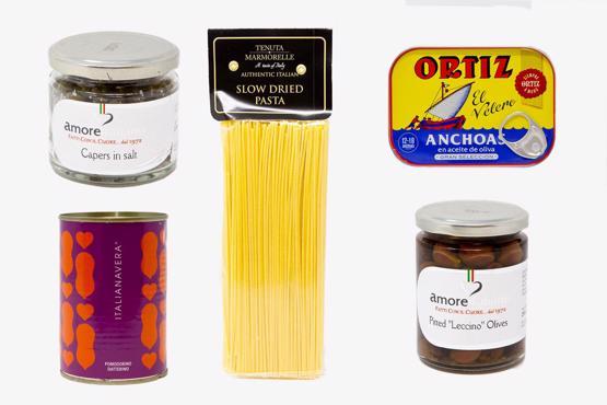 Spaghetti Puttanesca Dine in Selection