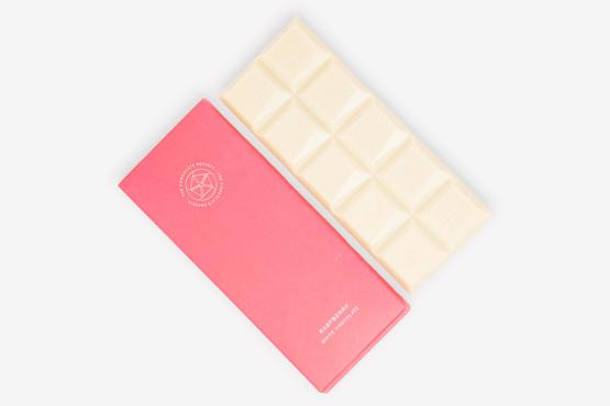 Raspberry White Chocolate Bar