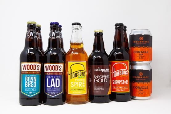 Shropshire Summer Ales (case of 14)