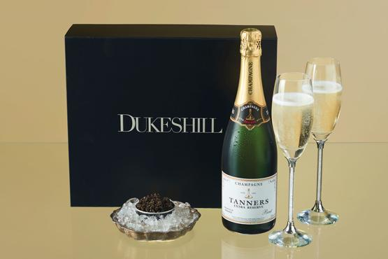 Malossal Caviar & Tanners Champagne