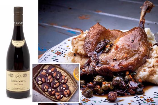 Valentine''s Dine in Confit Duck Sel