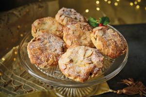 Almond Topped Mince Pies