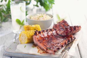 Mesquite & Bourbon BBQ Pork Ribs