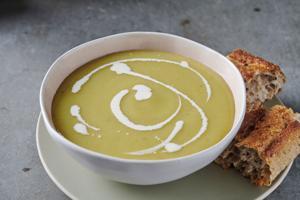 Creamed Asparagus Soup