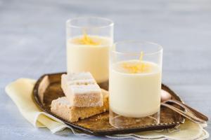 Lemon Possets x 4