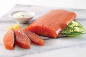 Royal Fillet Of Smoked Salmon
