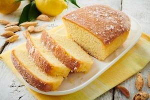 Almond Lemon Drizzle Cake