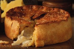 Lancashire Cheese & Onion Pie