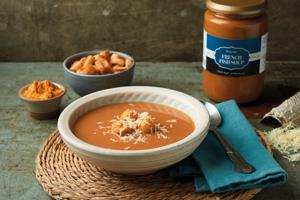 French Fish Soup with Garlic Croutons