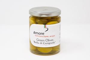 Giant Green Bella di Cerignola Olives