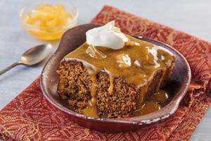 Sticky Ginger Pudding