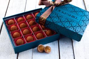 Sea Salt Caramel Truffles