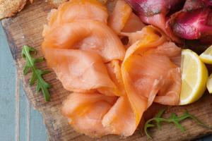 Sliced Oak Smoked Salmon