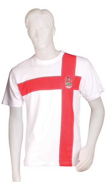 England Rugby Cross T-shirt