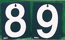 Morrant Traditional Score Plate Set