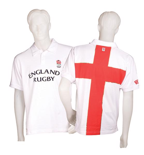 England Rugby Cross Polo Shirt