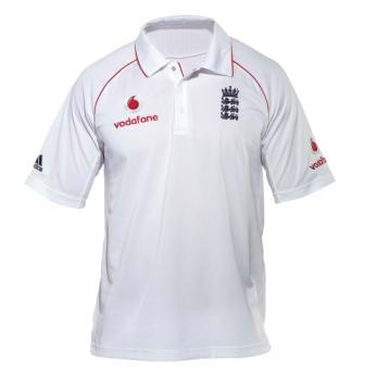 Adidas England Test Short Sleeve Shirt2