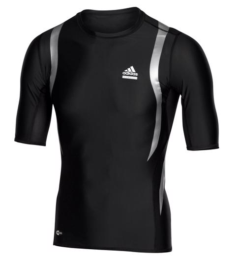 Adidas Techfit Powerweb Short Sleeve Bas