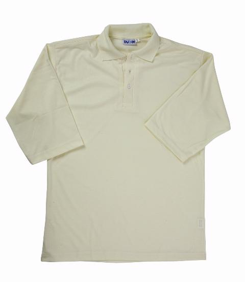 Plain 3/4 Sleeve Cricket Shirt - JUNIO