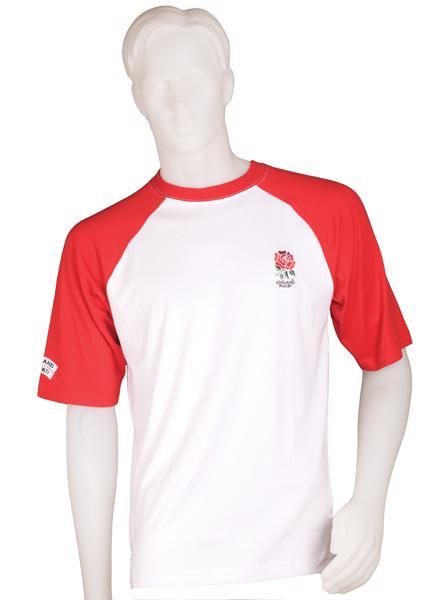 England Rugby Raglan T-shirt