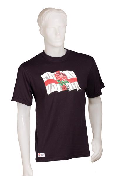 England Rugby Flag T-shirt
