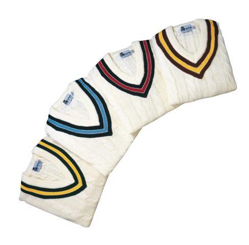 Sleeveless Trimmed Cricket Sweater - JUN