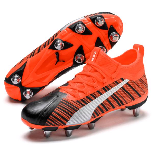 Puma ONE Rugby 1 H8 Boots BLACK/RED
