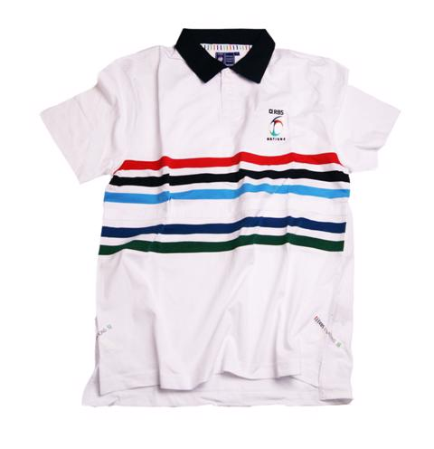 Six Nations Jersey Stripe Polo Shirt