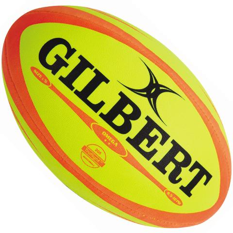 Gilbert Omega FLUORO Match Rugby Ball