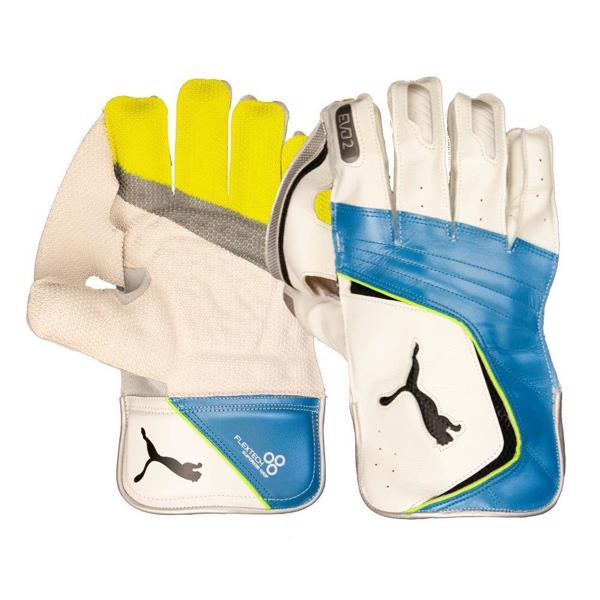 Puma EVO 2 WK Gloves WHITE/AZURE, JU
