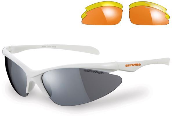 Sunwise Thirst WHITE Sunglasses