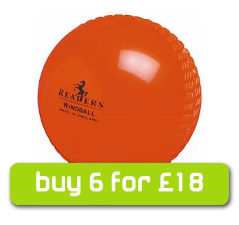 Readers Windball Cricket Ball - ORANGE%2