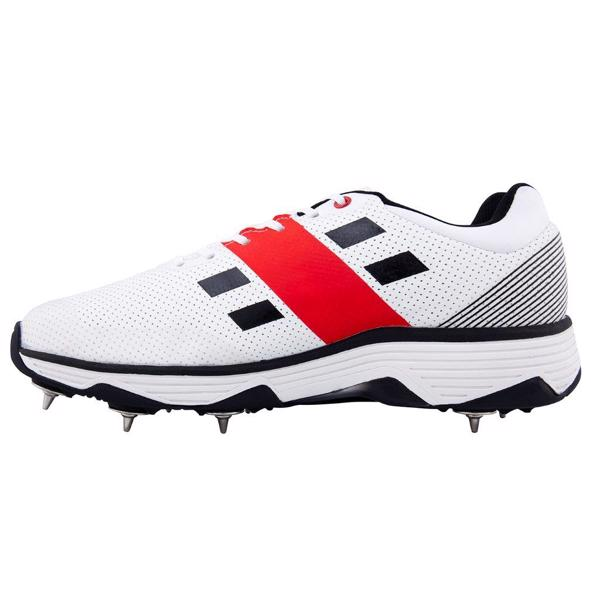 Sizes 7-13 Gray-Nicolls Players Spike Cricket Shoes White