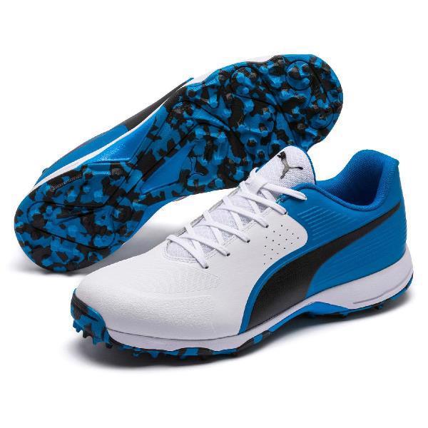 Puma 19 FH Rubber Cricket Shoe WHITE/A