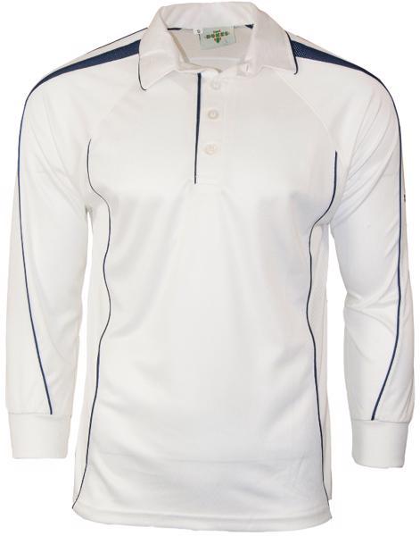 Dukes Hypertec LONG SLEEVE Cricket Shirt