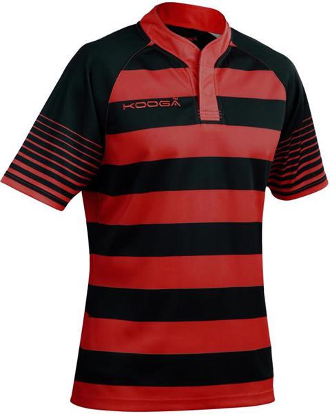 Kooga Touchline Hooped Match Rugby Shirt