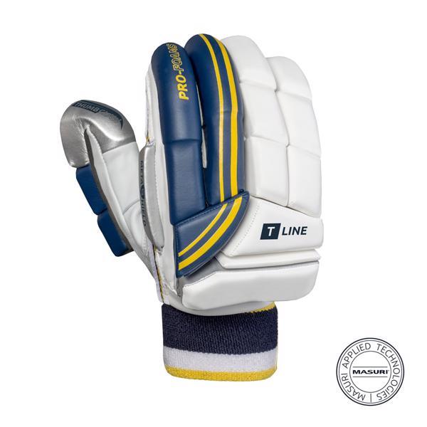 Masuri T Line Cricket Batting Gloves