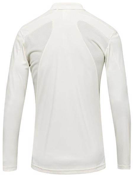 adidas Howzat Long Sleeve Cricket Polo