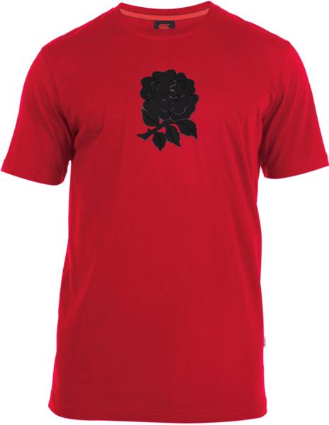 Canterbury England Rugby Cotton Graphic