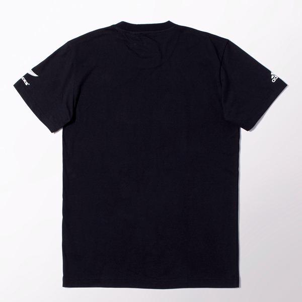 adidas All Balcks Kiwi T-Shirt, BLACK