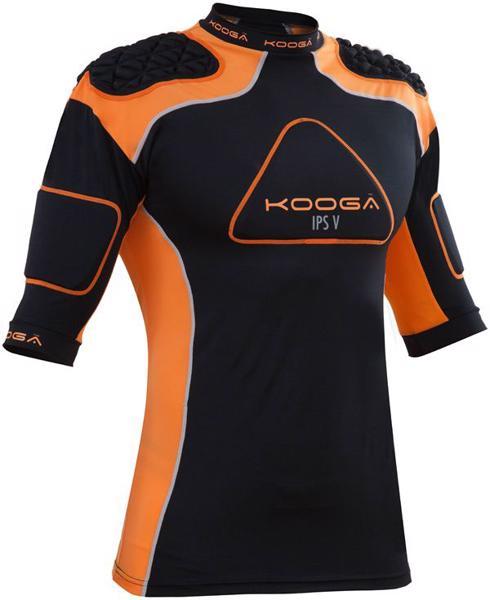 Kooga IPS PRO V Body Armour BLACK/ORAN