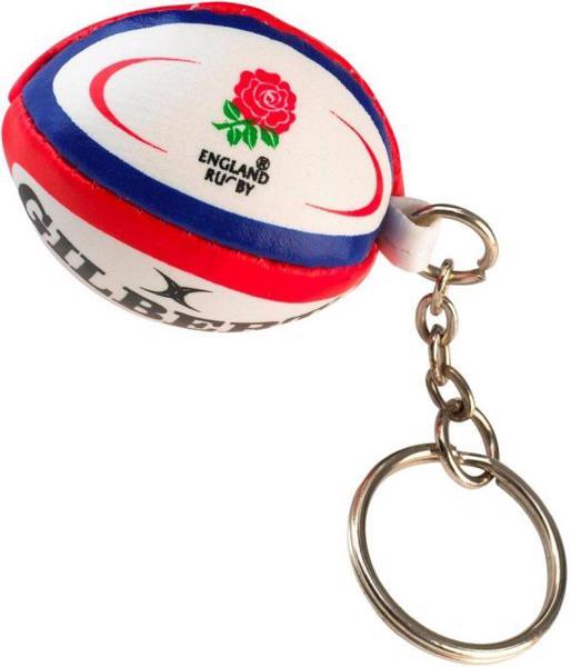 Gilbert England Rugby Ball Keyring