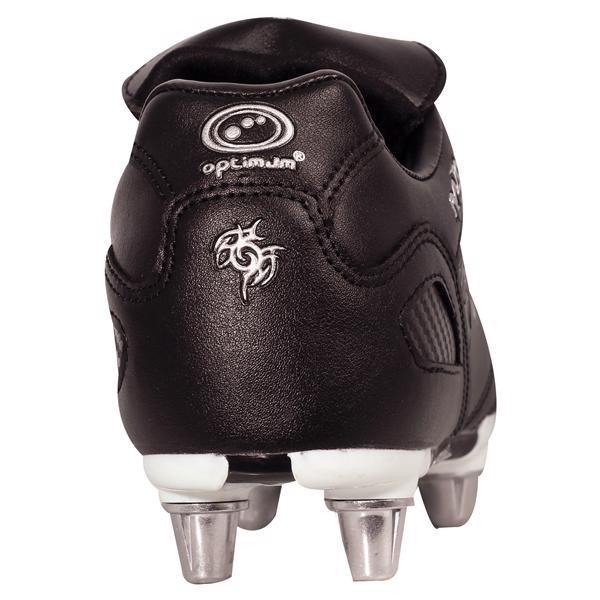 Optimum Razor 8 Stud Rugby Boots BLACK