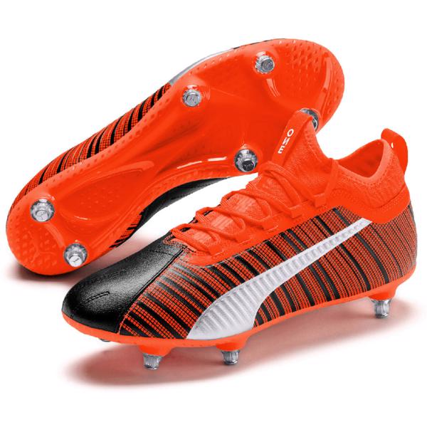 Puma ONE 5.3 SG Football Boots BLACK/R